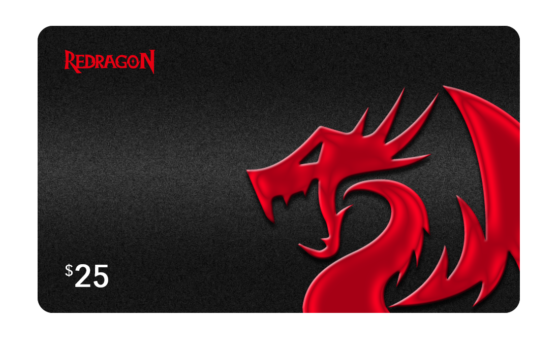 Redragon Gift Card $25