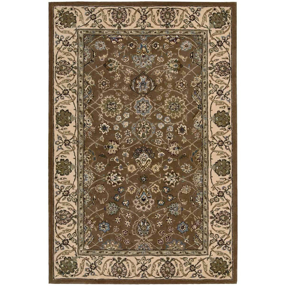 2091 Brown-Traditional-Area Rugs Weaver
