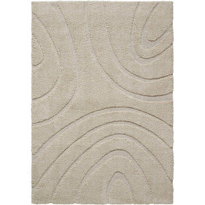 ASTN1 Cream-Shag-Area Rugs Weaver