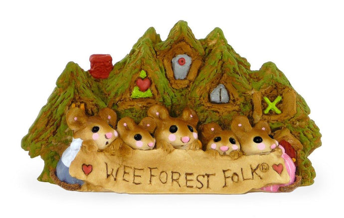 Wee Forest Folk Display Plaque