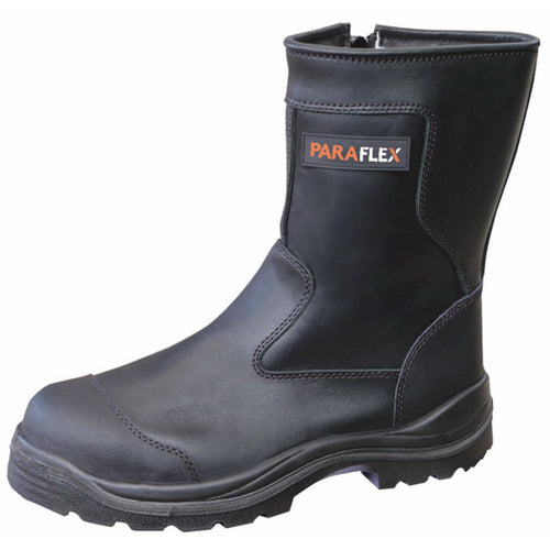 THERMO FREEZER - High Leg Side Zip Wool Lined Safety Boot