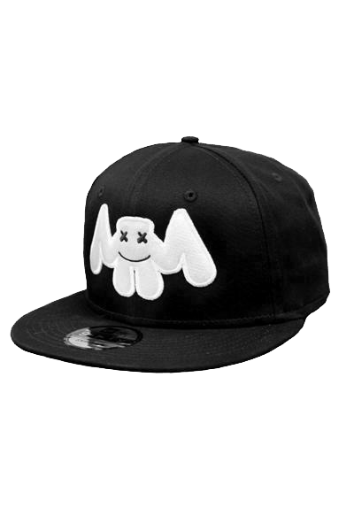 Bat Snapback HEADWEAR Mellogang Black