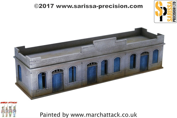 Large Single Storey Building - 20mm