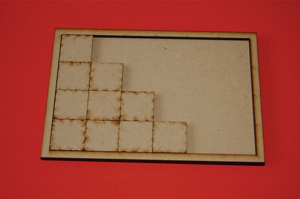 5x2 Movement Tray for 25x25mm bases