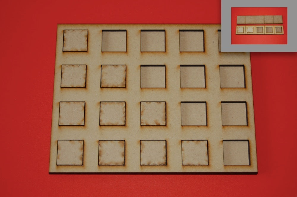 8x2 Skirmish Tray for 40x40mm bases