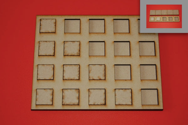 3x2 Skirmish Tray for 25x25mm bases