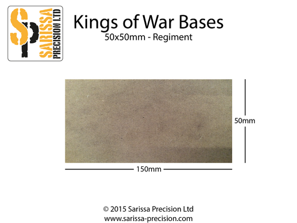 Regiment Base 150x50mm 50x50