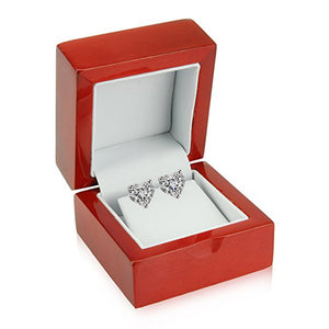 14 KARAT WHITE GOLD HEART 8.00 C.T.W