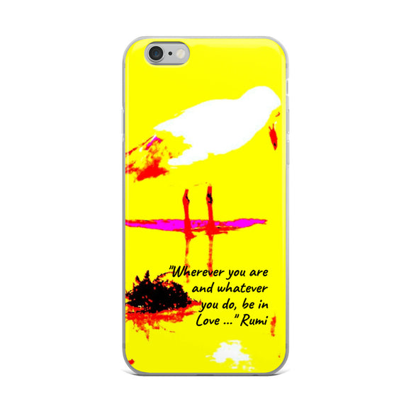 BE IN LOVE IPHONE CASE