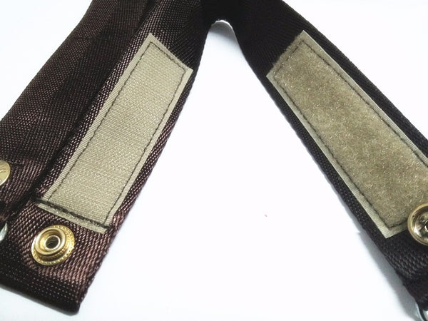 Stroller Straps (Black and Brown),,CIAMBI,CIAMBI diaper bag, nappy bag, change bag