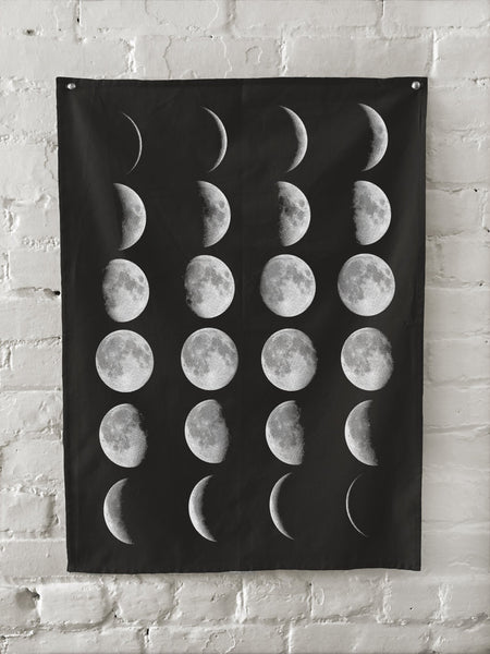 Moon Phases Towel