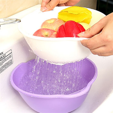 Load image into Gallery viewer, 3 Sets Multi-purpose Drain Basket-Kitchen & Dining-skrstar.com-Purple-