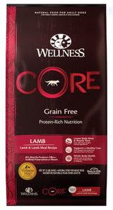 Dog Grain-Free Dry Food: Lamb - CORE Recipe series by Wellness