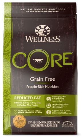 Dog Grain-Free Dry Food: Reduced Fat - CORE Recipe series by Wellness