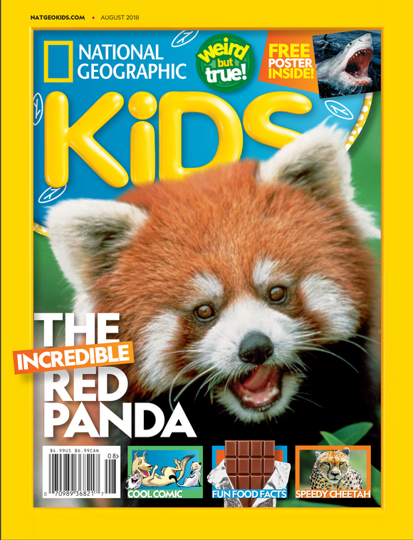 National Geographic Kids Magazine - FREE Mini Squish in a mystery box!