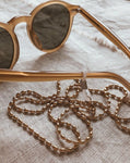 In A Perfect World IAPW Accessories Amelie vintage almond beaded gold chain