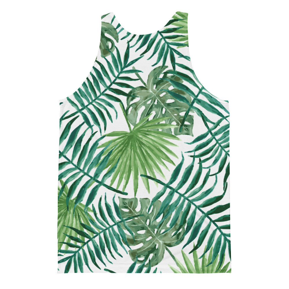 Leaf Me Alone Unisex Tank Top