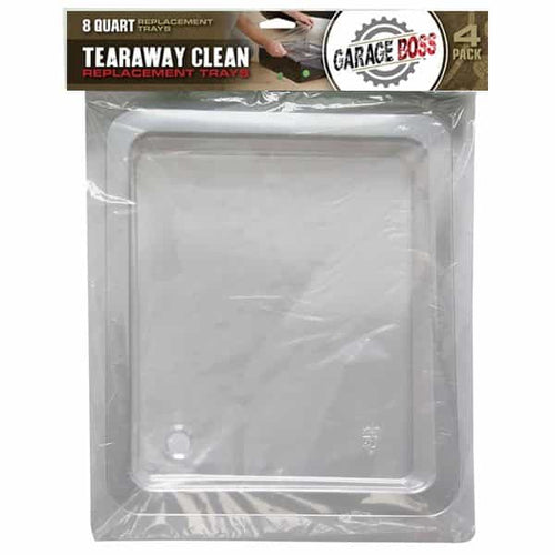 8 Quart Oil Tear Away Clean Replacement Trays (4 PACK)