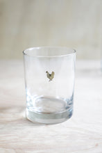Load image into Gallery viewer, Golden Chicken Double Old Fashioned Glass