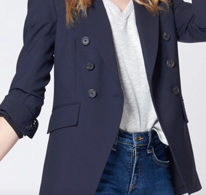 VERONICA BEARD - Lonny Double Breasted Core Blazer