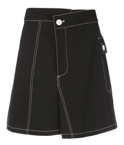 PROENZA SCHOULER - PSWL Asymmetrical Utility Cotton Pocket Skirt