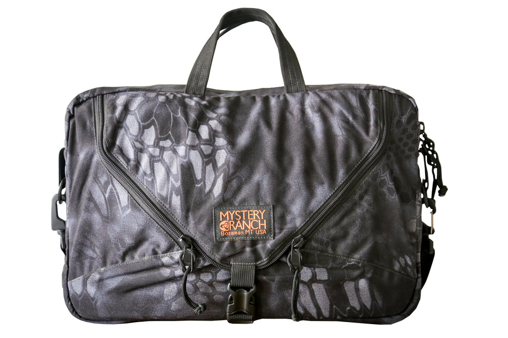 Mystery Ranch 3 Way Briefcase in Kryptek Typhon Camo
