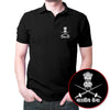 Image of Bhartiya Sena Polo T-Shirt Black