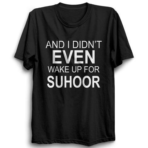 Suhoor Half Sleeve Black