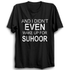 Image of Suhoor Half Sleeve Black