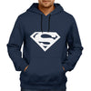 Image of Superman Logo Blue Hoodie