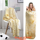 Burritos Tortilla Blanket