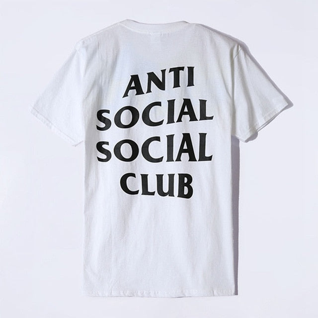 Anti Social Social Club (ASSC) - Short Sleeve Tshirt WHITE (Classic)