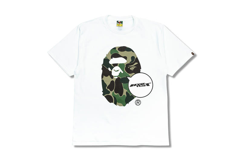 Bape x Hypefest Exclusive - White - Size Large