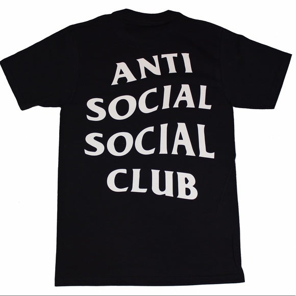 Anti Social Social Club (ASSC) - Short Sleeve Tshirt BLACK (Classic)