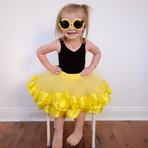 Lemon Tulle Skirt