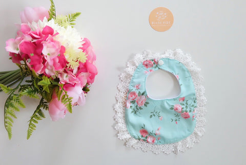 LIMITED EDITION LACE BIB - Skye