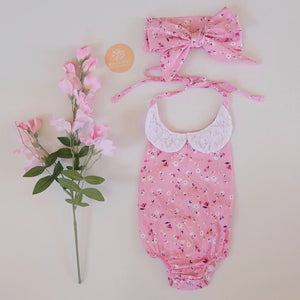 Charlotte Lace Sunsuit