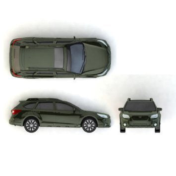 Official Subaru Gear Outback Die Cast Toy Car 2015 2016
