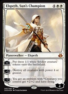 Magic: The Gathering - Elspeth, Sun'S Champion - Duel Decks: Elspeth Vs Kiora - Foil
