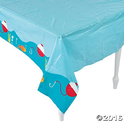 Little Fisherman Table Cover - 54 X 108