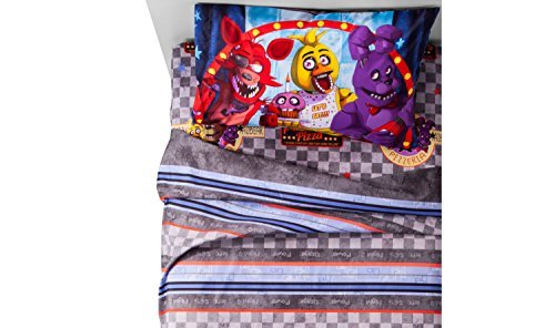Five Nights At Freddys Twin Comforter And Sheet Set