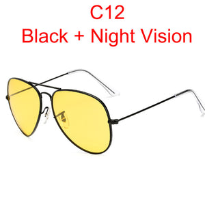 Polarised Day and Night Vision Sunglasses - Wish-n-Bliss