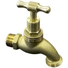Tap Brass (Hose Cock) 15mm Male