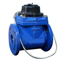 50mm Paddle Wheel Type Water Meter with Pulse Output (10 Litre Pulse)