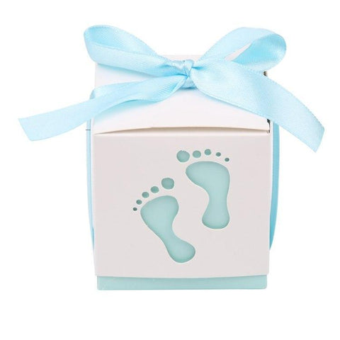 Blue Baby Feet - Gift Box - Miss Decorate