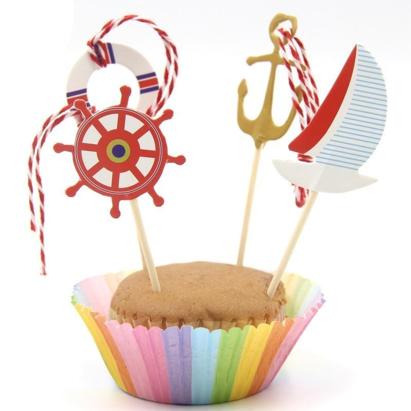 Ahoy Sailor - Cake Toppers - Miss Decorate
