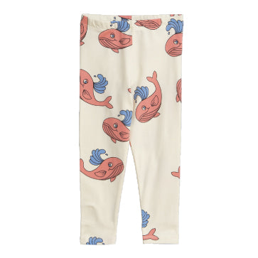 Whale Printed Leggings