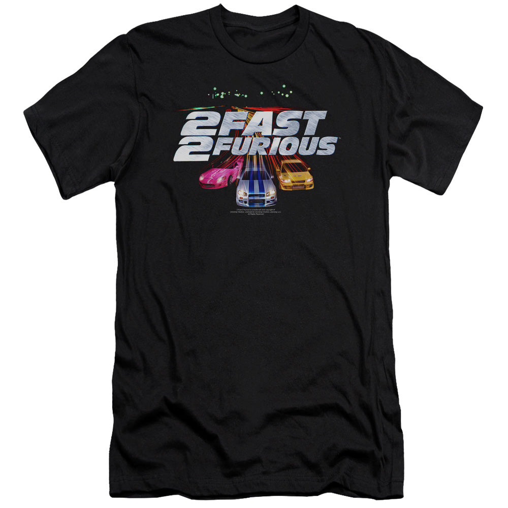 2 Fast 2 Furious - Logo Short Sleeve Adult 30/1