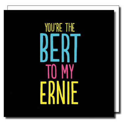 Bert & Ernie Gay Card