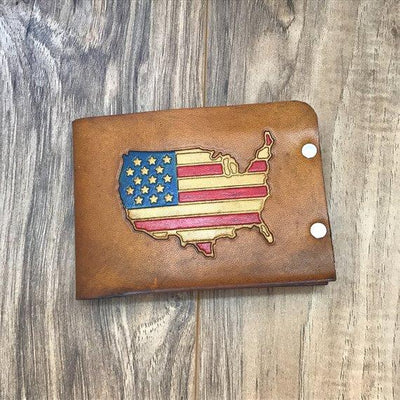 Mens Leather Wallet, Mens Wallet, Bifold Leather Wallet, Bifold Wallet, Military Gift, Mens Gift, Personalized Leather Wallet, Custom Wallet